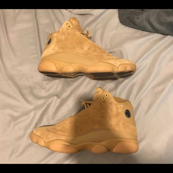 save off db779 f24da Air Jordan 13 Retro wheat